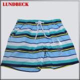 Stripe Style Children's Beach Shorts for Summer Wear