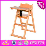Wholesale Wooden Baby Chair, Comfortable Wooden Toy Baby Feeding Chair, Cheap Baby Feed Chair Dining Chair W08f034