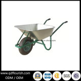 Zinc Plated Galvanized Wheelbarrow Wb6414t Rubber Wheel Barrow