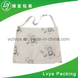 Promotional Custom Picture Printed Eco-Friendly Reusable White Cotton Tote Bag Canvas Bag