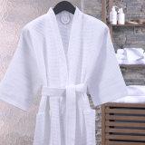 Cheap 100% Cotton Hotel Bathrobes Cotton Wholesale Waffle Bathrobe Home Textile