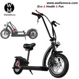 2018 New Hot Folding Small Citycoco Mini Electric Harley Scooter 350W 500W