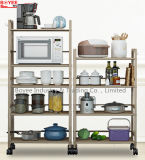 Home Kitchen Garage Wire Shelving 5 Shelf Storage Rack Unit Shelves Metal Closet Multi-Funtion Folding Metal Shelf