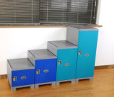 Storage Bookcase in Library or School Clasroom for Student or Workers