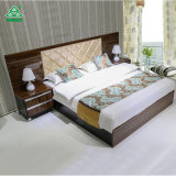 China Supplier King Size Queen Fabric Bedroom Furniture for Hotel Bed Wholesale