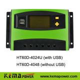 Ht60d 40-60AMP 12V 24VDC Solar Voltage Regulator with Temperature Compensation