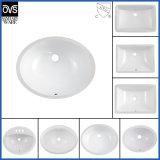 Popular Design Sanitaryware Cupc Undercounter Sink Bathroom Oval Shape Undercounter Ceramic Basin Wash Basin Wall Hung Basin Undermount Sink