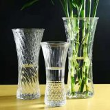 High Quality Different Types Transparent Glass Vase for Home Decoration