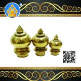 Golden Color Stainless Steel Handrail Ball Top for Stair Decoration