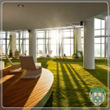 Eco Friendly Artificial Synthetic Grass Turf for Office Decoration