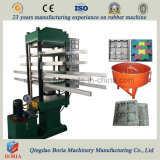 Rubber Flooring Tile Making Machine / Outdoor Rubber Tile Machine