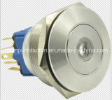 30mm Dotilluminated Momentary/Latching Metal Pushbutton