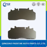 Truck Brake Pads High Shear Strength Steel Back Plate