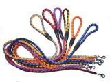 Double Colors Stout Nylon Weaved Dog Leashes