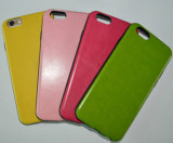 High Quality Silicone PU Leather iPhone Cover/Cases with Real Leather