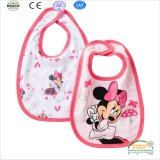 Micky Mouse Print PVC Laminated Stainproof Baby Bib