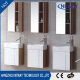 Simple Corner Melamine Hotel Bathroom Vanity with Mirror Cabinet