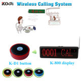 Competitive Price Koqi Restaurant Equipment for Sale Wireless Waiter Call System