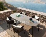 Walden 2018 New Collection Outdoor Garden Dining Set/Modern Patio 6-Seater Furniture
