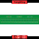 23 Player Tai Xiu Luxury Standard Casino Poker Table Layout with Green Color of Casino Table Games (YM-BL24G)