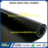 Industrial SBR+EPDM+NBR+Neoprene+Butyl+Natural Black Rubber Roll Sheet