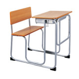 College School Furniture University Desk with Chair Step Bench Table for Wholesale