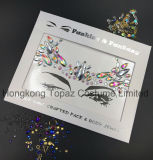 2018 Hongkong Topaz Skin Safe Party Eye Stickers White Studs Body Jewels Face Tatto Stickers (E16)