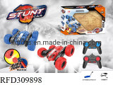 New Design 2.4G Radio Control Inflatable Wheel Double Sided RC Stunt Car
