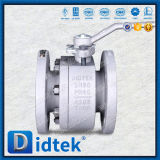 Didtek Anti Blow-out Stem Bi-Directional Two Piece Bolted Body Ball Valve