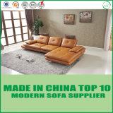 L Shape Office Leather Sofa Bed