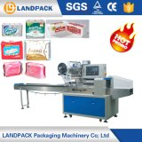 Ce Approved Reciprocating Toilet Paper Napkin Paper Baby Diaper Packing Machine Gusset Bag Sanitary Napkin Flow