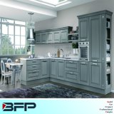 American Style Luxury Solid Wood Kitchen Cabinets Wood Kitchen Furniture (BSK-41)