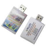 Book USB Flash Drive 8GB Plastic Pendrive U Memory Stick