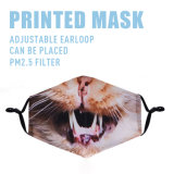 Custom Halloween/Christmas Printed Logo Face Mask for Adults Kids