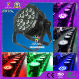 Cheap Outdoor IP65 DMX 18*10W LED PAR Can Stage Lights