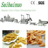 Frying Wheat Flour Snack Food Production Line Corn Doritos Tortilla Chips Processing Maker Plant Cone Bugles Snacks Food Making Machine