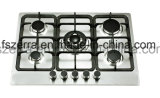 5 Burner Gas Hob with Cast Iron Pan Support (JZS5862)