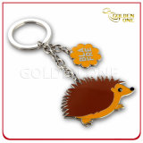 Customized Promotion Gift Hard Enamel Metal Key Holder