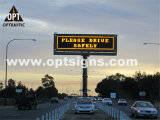 Optraffic OEM En 12966 Road Highway Traffic Control Remote Controlled LED Signs, Message LED Sign, Portable LED Sign