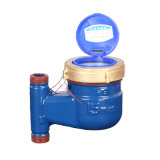 Dn15 Vertical Type Cast Iron Shell Civil Water Meter Half Inch Water Meter