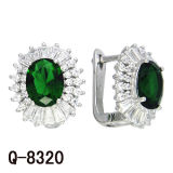 New Arrival Fashion Earrings Silver Jewelry Factory Hotsale