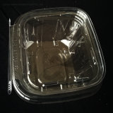 Promotion Price Clear Tamper Evident Resistant Plastic Food Containers with Lid