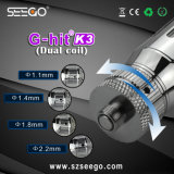 Newest Design Seego G-Hit K3 Glass Normal Oil Atomizer E-Cigarette Vaporizer