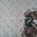 Aluminium Chequered Diamond Sheet Plates Alloy 1100 1050 with Paper