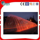 Outdoor Landscape Colorful Laminar Flow Fountain