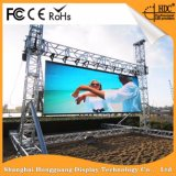 Outdoor Full Color Stage Background LED Video Sign Display for P6