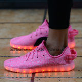 2017 Hot Selling Yeezy Boost 350 Flykint LED Light Shoes