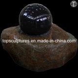 Water Fountain Black Ball Granite Ball fountain Rolling Sphere Fountain