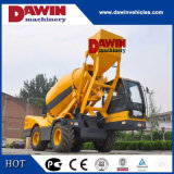 Auto Self Loading Concrete Mixer Truck with PLC Weighing System