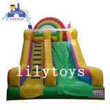 Durable Inflatable House Slide for Kids Amusement, Inflatable Theme Bouncing Castle, Cheap Playground Fun City Slide